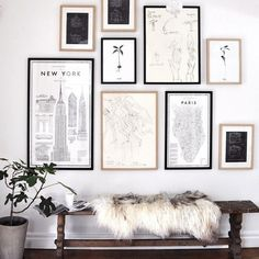 """Start your day off with some design #inspiration - learn how to create your own gallery wall masterpiece with a little help from our friends @minted on…"""