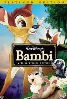 Animated film about a young deer, Bambi, growing up in the wild after his mother is shot by hunters
