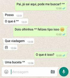 Pai esperto no Whatsapp