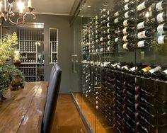 29 best dining room wine room images on pinterest arched doors rh pinterest com glass wine cellar in dining room Wine Room Decorating Ideas