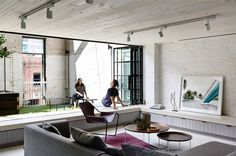 Detail Collective   Interior Spaces   Fitzroy Loft by Architects EAT   Image: Derek Swalwell