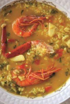 Tasteful Ibiza´s gastronomy // Arroz a la marinera ibicenco.