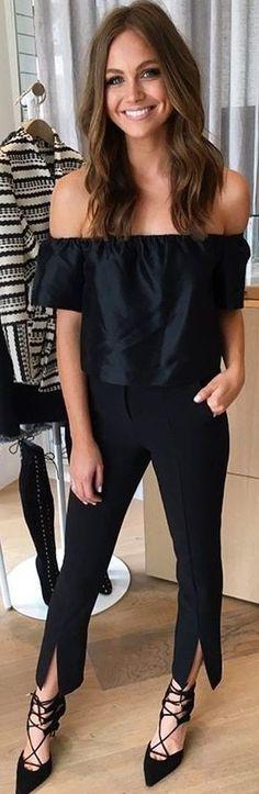 #fall #kookai #australia #outfits | All Black Everything