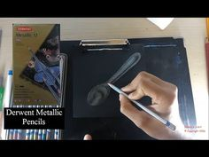 Dremico's Art Channel: Metal Spoon  Derwent Metallic Water Soluble Penci...