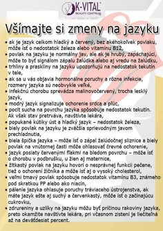 zmeny na jazyku Ayurveda, Cooking Tips, Cleanse, Natural Remedies, Health Tips, Health Fitness, Food And Drink, Healthy, Low Carb