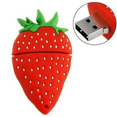 The cute Strawberry usb 2.0 usb flash drive 8gb 16 gb 32 gb pen drive memory stick pendrive u disk