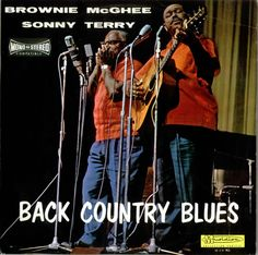 Sonny Terry & Brownie McGhee,Back Country Blues,France,