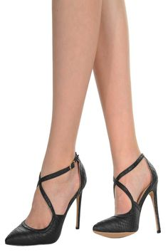 These pumps are so chic.