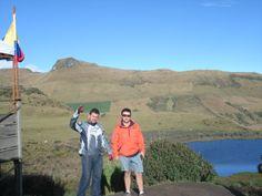 Laguna Negra a 3700 msnm es una laguna glaciar en el Parque Nacional los Nevados en Manizales-Colombia