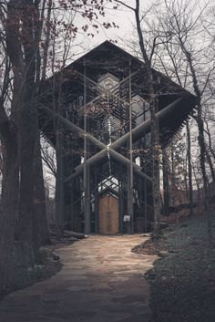 Thorncrown Chapel | E. Fay Jones