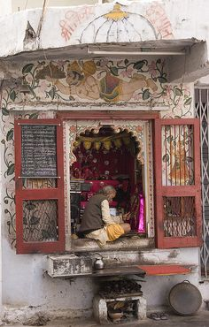 INDIA - UDAIPUR - Temple