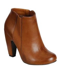 Take a look at this Chestnut Mozza Bootie on zulily today!