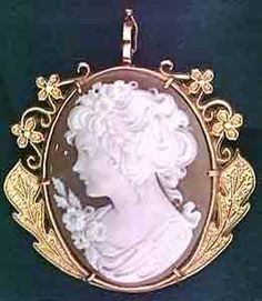 cameo - During the Victorian Era (1837-1901), the popularity of the cameo rose and stayed a constant throughout most of the Edwardian Era (1901-1910).