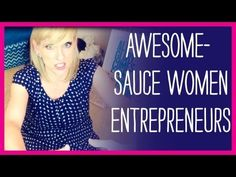 Women entrepreneurs are awesome-sauce right? Here are some of my faves this week. X0X0 Renae.