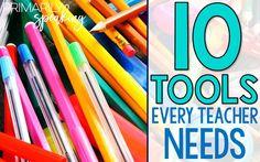 10 items every teach