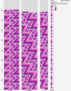 Жгуты из бисера схемы's photos – 4,462 photos   VK