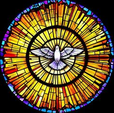 When Saint Mary's Catholic Church in Sanger, California needed stained glass they chose Stained Glass Inc. Stained Glass Inc. custom designed a beautiful rose window that fit perfectly into their church. Stained Glass Tattoo, Stained Glass Art, Stained Glass Windows, Mosaic Glass, L'art Du Vitrail, Stained Glass Church, Rose Window, Saint Esprit, Church Windows