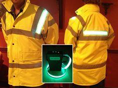 Light Tape Illuminated GloPro HiViz Safety Clothing  http://www.lighttape.co.uk