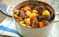 Learn to Cook: Beef Pot Roast // Super hearty and super simple... This dish will be ready with little preparation and is loaded with flavor! data-pin-do=