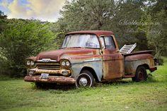 Rusty truck at The Prairie