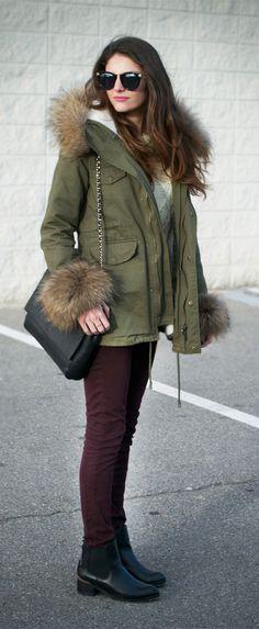Hit The Road Detachable Fur Jacket