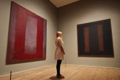 Vandalised Mark Rothko painting back on display at Britain's Tate Modern gallery