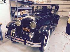 1927 Cadillac Model 314 7-Passenger Sedan