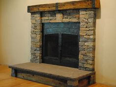 Fireplace: Natural Stone Tile Fireplace. Diy Stone Tile Fireplace, Stone Together With Natural Stack Stone Tile . [RealSearchRI] Home Interior Design And Decorating