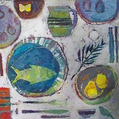 The Boat Plate by Sally Anne Fitter