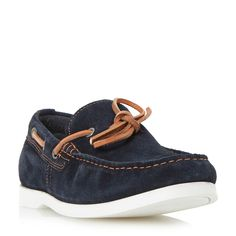 Howick Balkan boat shoes, Navy
