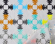 Printshop Pineapple Quilt Click on any image for a larger view.The Pineapple Block is one of my favorite traditional patchwork blocks and this week I have combined the Pineapple Block with one of my p