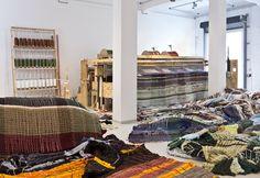 "Michael Beutler ""loom"", 2014"