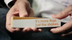 "Parkinson's Disease - It's ""MORE THAN JUST THE SHAKES"""