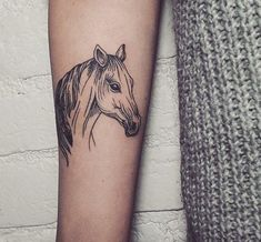 ▷ Horse Tattoo Designs with Meanings - 35 Ideas