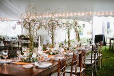 Rustic Wedding Centerpieces.