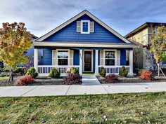 You'll never feel blue in this little real estate gem. This is Boise living at its finest. #BoiseHomes #RealEstate #DreamHome #Zillow #Architecture