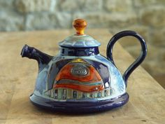 Teapot. Ceramics and Pottery Tea pot. Handmade by DankoHandmade