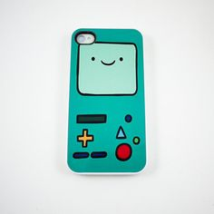Beemo Adventure Time iPhone 4 Case iPhone 4s Case by rabbitsmile, $16.00