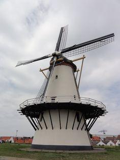 Windmill, Oranjemolen, Vlissingen.