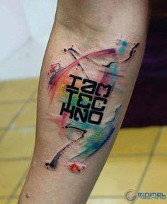 #tattoo #techno