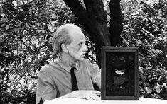 Known for his exquisite shadow boxes filled with ephemera, Joseph Cornell experimented extensively in a career that brushed against both Surrealism and Pop Art Cornell Box, Joseph Cornell, Royal Academy Of Arts, Portraits, Box Art, Art Boxes, Art Fair, Les Oeuvres, Amazing Art