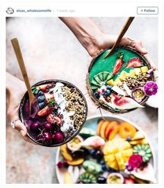 Smoothie Art Recipes: Our Latest Instagram Obsession