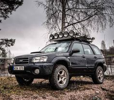 Awesome SG XT Forester with a lift kit with camber and caster offsets and trailing arm spacers BFG on… Subaru Outback Lifted, Subaru 4x4, Subaru Outback Offroad, Jdm Subaru, Subaru Cars, Subaru Impreza, Subaru Forester Lifted, Lifted Subaru, Vw Wagon