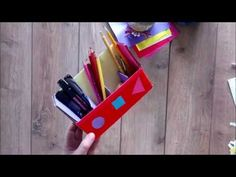 Hello everyone and welcome to a new video! Today's tutorial is about ``DIY Suport de pixuri din carton 🖍️ How to make a pencil holder using cardboard box Tut. Foto Frame, Pencil Holder, Hello Everyone, Wrapping, Make It Yourself, Box, Youtube, How To Make, Handmade