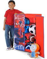 Spiderman Free Standing Wardrobe Organizer, Red