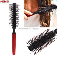 Roll Brush Round Hair Comb Wavy Curly Styling Care Curling Beauty Salon Tools #H027# #Affiliate