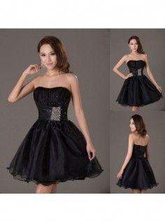 1b2b60c1f4bd1 Ball Gown Sweetheart Organza Short Mini Dress Prom Dresses 2015