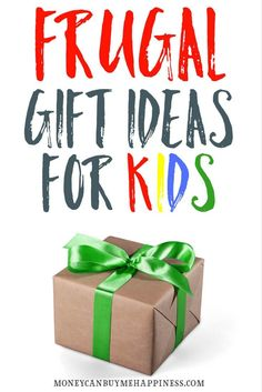 If you want to maximise the enjoyment your kids get from their Christmas gifts whilst on a budget, these frugal gift ideas for kids are all you need.