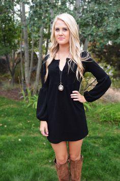 Winters Little Black Dress
