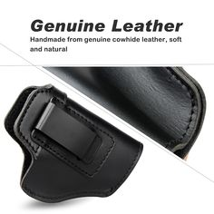 Vapanda Hunting Gun Holster Leather Concealed Universal Tactical Pistol Case for Beretta 92 Glock 17 19 22 23 M&P Gun Holster